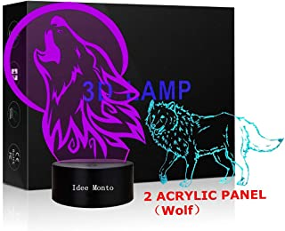Best led wolf lamp Reviews