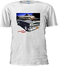 Bob Falfa's 55 Chevy American Graffiti Hot Rod Unisex T Shirt Top Men Women Ladies