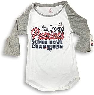 NFL Team Apparel New England Patriots Super Bowl LI Champions Juniors Teen T-Shirt