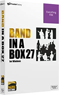 PGmusic Band in a Box 27 Windows版 EveryPAK バンドインアボックス 自動作曲ソフト PGミュージック