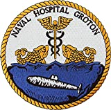 Naval Hospital Groton, CT Patch Full Color