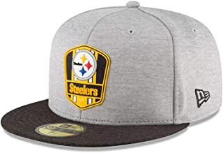 New Era Pittsburgh Steelers NFL Sideline 18 Road On Field Cap 59fifty Fitted OTC