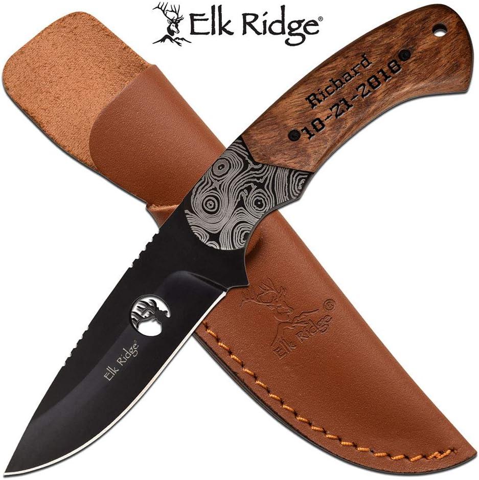 Elk Ridge Free Engraving - Quality Pocket Knife (ER-200-09BR)