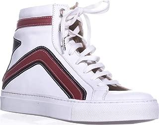Belstaff Dillon High Top Fashion Sneakers, White