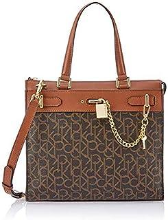 كالفن كلاين حقيبة للنساء-بني - حقائب كبيرة توتس
