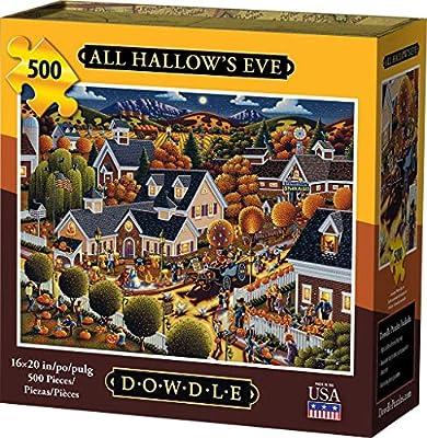 Dowdle Jigsaw Puzzle - All Hallow's Eve - 500 Piece from Dowdle Folk Art