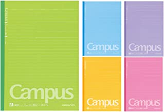 Kokuyo Campus NotebookRegla Semi B5Dotted 7mm30hojasPack de 5, Colores