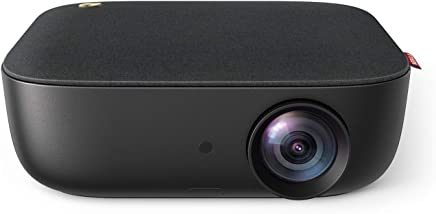 $229 Get Nebula by Anker Prizm II 200 ANSI Lumens Full HD 1080p LED Multimedia Projector, Dual Speakers, Horizontal & Vertical Keystoning, Fire TV, PS4, HDMI, VGA, AV, USB for Films, Games, More