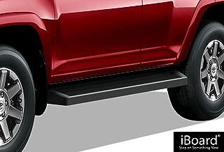 APS iBoard Black Running Boards Style Custom Fit 2010-2020 Toyota 4Runner Limited Sport Utility 4-Door & 2010-2013 4Runner SR5 (Nerf Bars Side Steps Side Bars)
