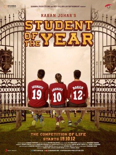 Student Of The Year (2012) (Hindi Movie / Bollywood Film / Indian Cinema DVD) by Siddharth Malhotra