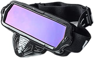 Vhccirt Multi Function Goggles for Motorcycle/Riding/Climbing 2 in 1 Polarized Lens 100% UV Protection