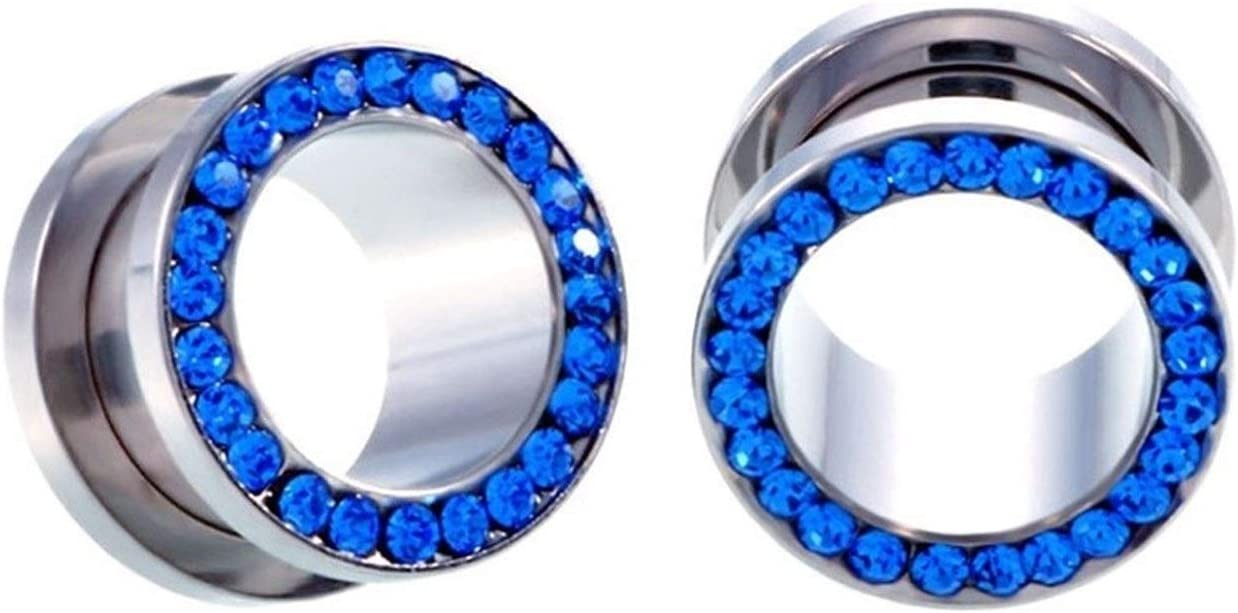 Cheap SALE Start HBJSDGV Ear Expander Body New products world's highest quality popular St Jewelry Piercing 10Pcs