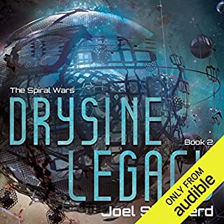Drysine Legacy     Spiral Wars, Book 2              Written by:                                                                                                                                 Joel Shepherd                               Narrated by:                                                                                                                                 John Lee                      Length: 18 hrs and 4 mins     9 ratings     Overall 4.6