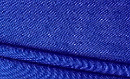 Stoffbook Tela de nailon 600D, 50 x 145 cm, extra resistente, bolsillos (azul real)