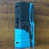 ModShield for KBOX SUBOX Mini-C 50W Silicone Case ByJojo Kanger Mini C Skin Sleeve Cover Shield Wrap (Blue/Black)