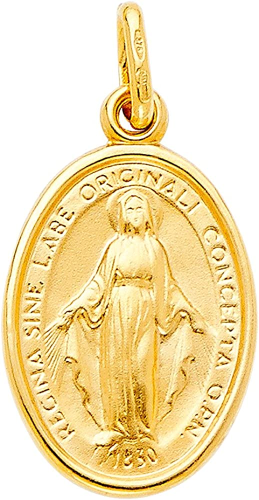 SEAL limited product GoldenMine Fine Jewelry Collection 14k Yellow Vir Religious Spring new work one after another Gold
