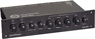 PowerBass Xtreme Sound 4 Band, 3 Zone, Bluetooth Power Sports Equalizer
