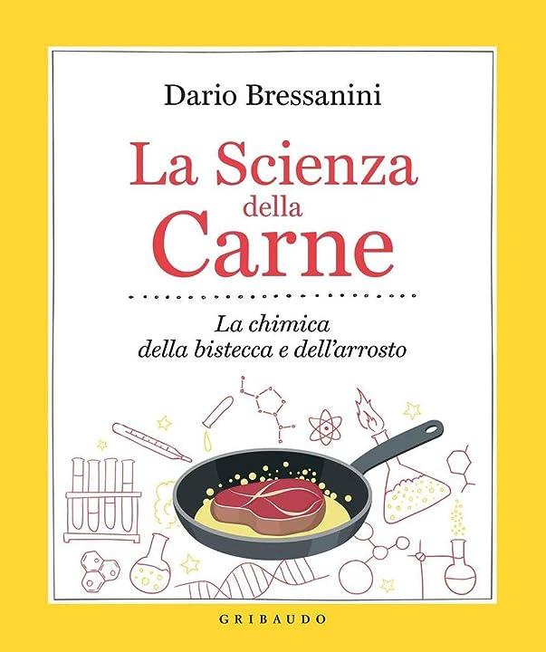 La scienza della carne. la chimica della bistecca e dell`arrosto (italiano) copertina flessibile gribaudo 978-8858016022