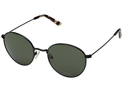 Madewell Fest Aviator Sunglasses (True Black) Fashion Sunglasses