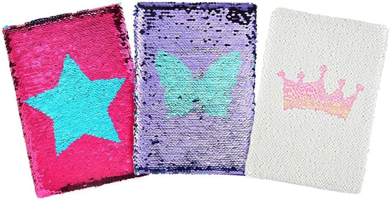 DorisAA Reversible Pailletten-Notizbuch-reizende Geburtstags-Geschenke für Mädchen (Farbe     Rosa) B07M722R5F   Mangelware    2019    eine breite Palette von Produkten  182c27