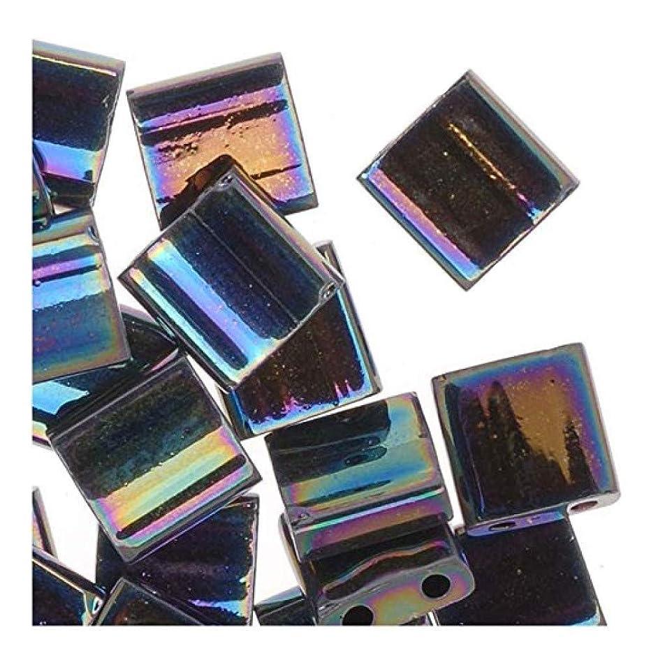 Miyuki Tila Beads Medium Blue Iris 7.2 Gram Tube