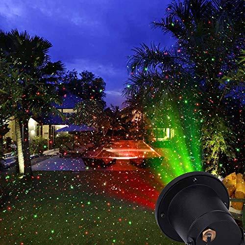 WZYJ Luces Navideñas Proyector De Luz Proyectores Navideños Proyectores De Paisaje Al Aire Libre A Prueba De Agua para Vacaciones Halloween Acción De Gracias Fiesta De Cumpleaños