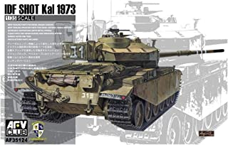 AFV Club IDF Sho't Kal 1973 Centurion Mk.5/1 1:35 Scale Military Model Kit