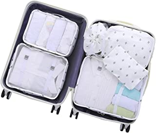 OEE Soft, White Cactus (White) - Packing Cubes