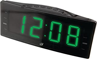 GPX, Inc. C353B AM/FM Clock Radio with Dual Alarms and LED Display (Black)