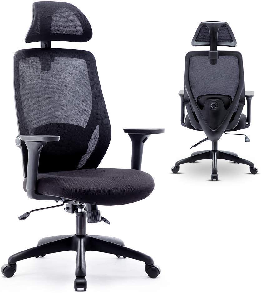 Bonzy Home Ergonomic Office Chair Duty Heavy C Dealing full price reduction Raleigh Mall Mesh