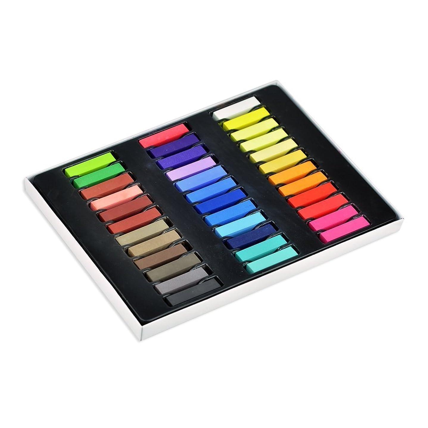 精査する南東命令ヘアカラー ヘアカラー チョーク 髪染め ファッション ヘアチョーク ヘアカラーチョーク Hair color chalk (全36色)