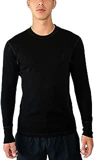 Woolx Explorer - Men's Midweight Merino Wool Baselayer Top - 100% Merino Wool Crew