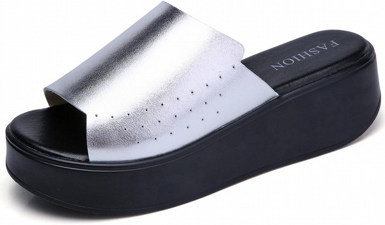 YTTY Mode All-Match-Sandalen Komfort Trend Slip Slip Erhöhen Erhöhen Erhöhen Weibliche Flut Schuhe B07CZ311WW  Einfach zu bedienen 349de8