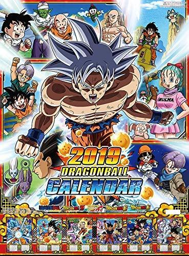 Ensky Dragon Ball Super Calendar 2019 Try-X Wall Calendar Calendario de Pared Oficial Japón Anime 2019