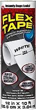 Flex Tape Rubberized Waterproof Tape, 12 inches x 10 feet, White
