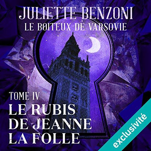 Le rubis de Jeanne la Folle audiobook cover art