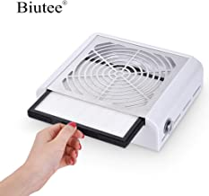 Biutee Nail Dust Collector 40W New Strong Power Nail Fan Art Salon Suction Dust Collector Machine Vacuum Cleaner Fan (B)
