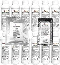 well2wellness Concentré d'infusion pour Sauna Set Classique+ Wellness 12 x 250 ML + 200 g Gommage sel