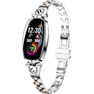 Smart Watch, Fitness Tracker With Heart Rate & Blood Pressure & Sleep Monitor For IOS & Android,...