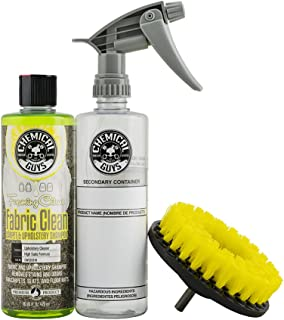 Chemical Guys Easy-to-Use Drill Brush Carpet & Upholstery Fabric Cleaning Kit