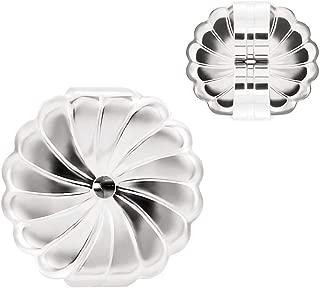 UnCommon Artistry Sterling Silver Large Fancy Earring Backs (Earnuts) (4)