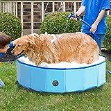 Jolitac Faltbarer Hundepool Swimmingpool Hunde Katze Doggy Pet Pool Haustierpool