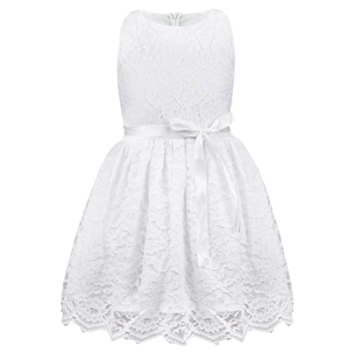 iEFiEL Girls Boutique Princess Lace Flower Dress Wedding Pageant Party Ball  Gown 777ac3e0f