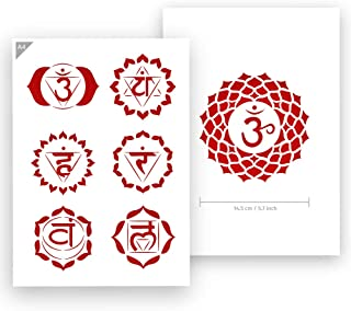 Best chakra symbol stencil Reviews
