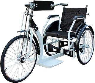 車椅子折りたたみ三輪自転車手クランク車いす軽量コンパクアシスト3輪カート車イスシニアカート