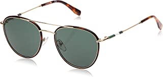 Lacoste Oval Heritage Golden Beauty Sunglasses For Men 51-19-140mm