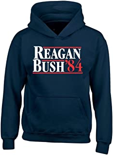 Shop4Ever Reagan Bush 84 Hoodies Presidential Campaign Sweatshirts