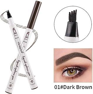 TAOtTAO Eyebrow Tattoo Pen Waterproof Fork Tip Sketch Makeup