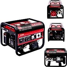 YUEWO 10L, 3200 vatios de arranque, Gas Powered Portátil Generador Arranque eléctrico Rojo