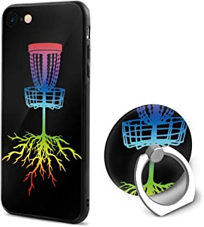 Teckei Rainbow Disc Golf Roots Case for Apple iPhone 6 and iPhone 6s,Mobile Phone Shell Ring Bracket Kickstand for iPhone 6/6s